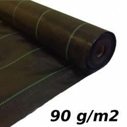 Agrotkanina GRUBA 90g 0,8x50 m UV mata na chwasty